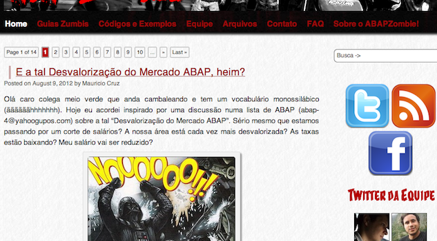 Adeus blog velho… Feliz site novo!