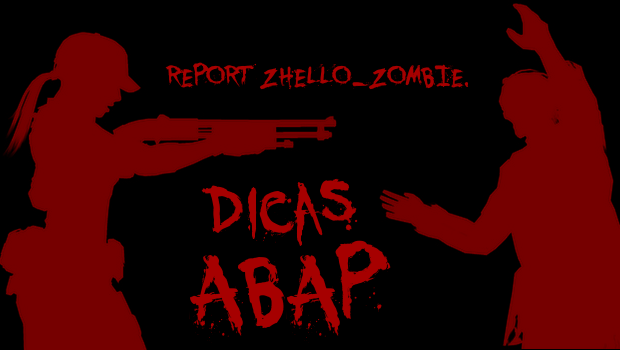 ABAPZombie Guide to ABAP – Parte 27 – CHECK
